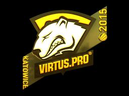 Sticker | Virtus.pro (Gold) | Katowice 2015