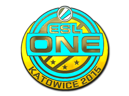 Sticker | ESL One (Gold) | Katowice 2015