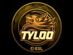 Sticker   Tyloo (Gold)   Katowice 2019
