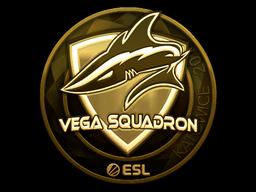 Sticker | Vega Squadron (Gold) | Katowice 2019