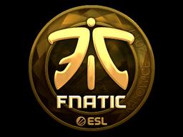 Sticker | Fnatic (Gold) | Katowice 2019
