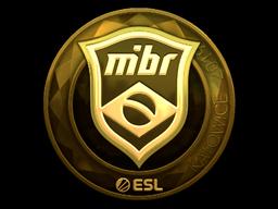 Sticker | MIBR (Gold) | Katowice 2019