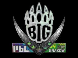 BIG (Holo)   Krakow 2017