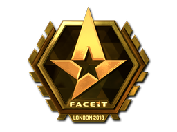 Sticker | Astralis (Gold) | London 2018