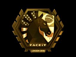 Sticker | Team Liquid (Gold) | London 2018