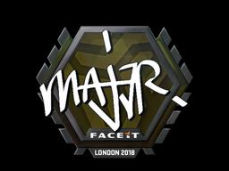 MAJ3R   London 2018