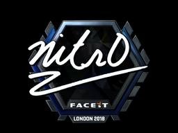 nitr0 (Foil)   London 2018