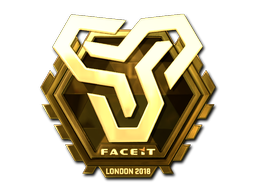 Sticker   Space Soldiers (Gold)   London 2018