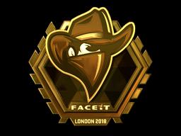 Sticker | Renegades (Gold) | London 2018