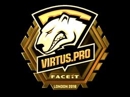 Sticker   Virtus.Pro (Gold)   London 2018