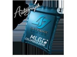 Autograph Capsule | Counter Logic Gaming | MLG Columbus 2016