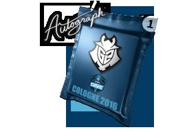Autograph Capsule   G2 Esports   Cologne 2016