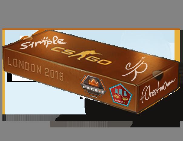London 2018 Mirage Souvenir Package