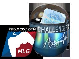 Autograph Capsule | Challengers (Foil) | MLG Columbus 2016