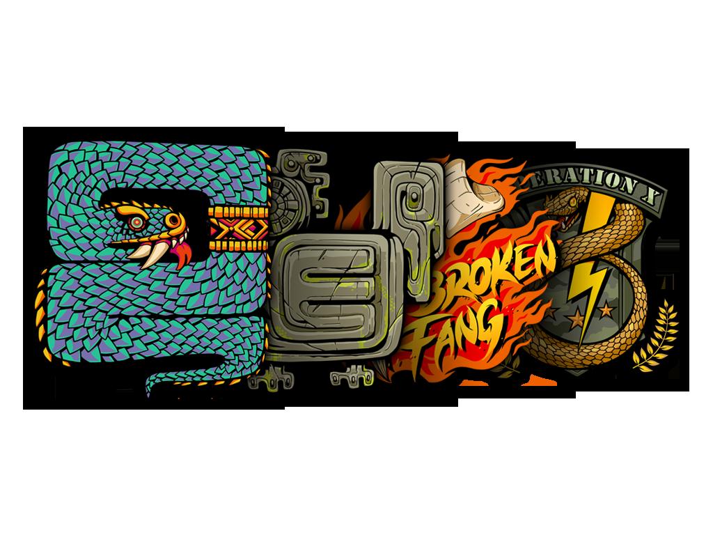 Broken Fang Sticker Collection
