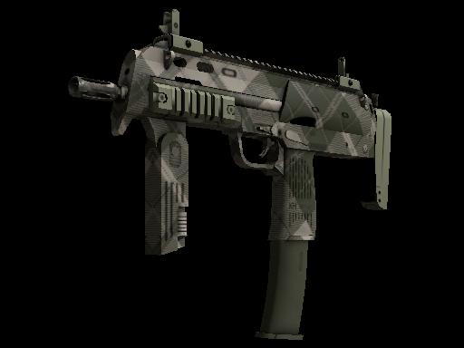 MP7   Olive Plaid