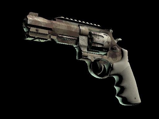 R8 Revolver   Desert Brush