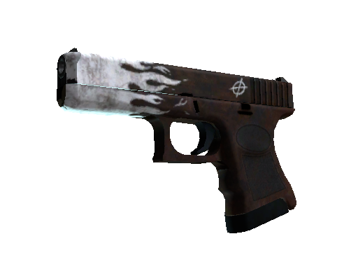 Glock-18   Oxide Blaze