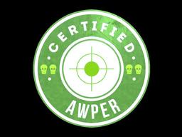 Sticker   The Awper