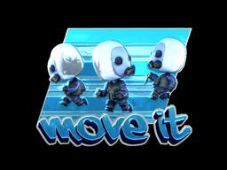 Sticker | Move It (Foil)