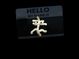 Sticker   Hello XM1014 (Gold)