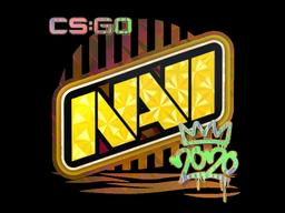 Sticker   Natus Vincere (Holo)   2020 RMR