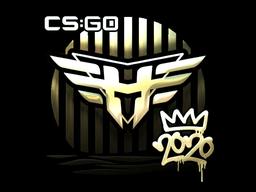 Sticker   Heroic (Gold)   2020 RMR