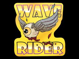 Sticker | Fools Gold Wave Rider
