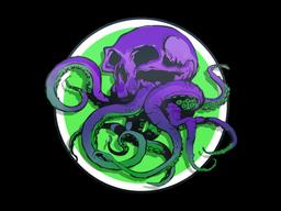 Sticker | Toxic Tentaskull
