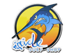 Sticker | Ocean Sunset Stabbyfish