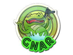 Sticker   Green Gnar