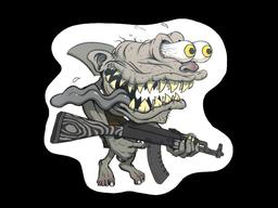 Sticker   Black Shark Shooter
