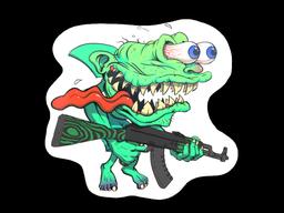Sticker | Green Shark Shooter