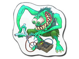Sticker | Green Bombster