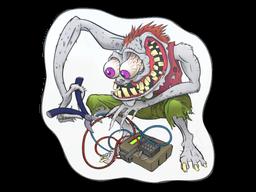 Sticker | White Bombster