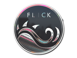 Sticker   Mercury Flick (Holo)
