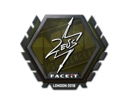 Sticker   Zeus   London 2018