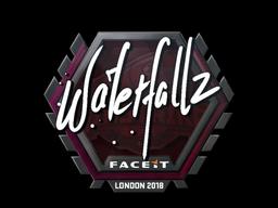 Sticker | waterfaLLZ | London 2018