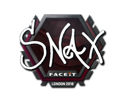 Sticker | Snax | London 2018