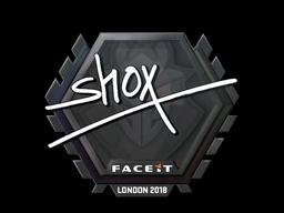 Sticker | shox | London 2018