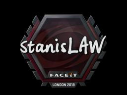 Sticker | stanislaw | London 2018