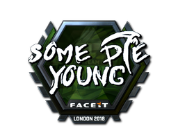 Sticker   sdy (Foil)   London 2018