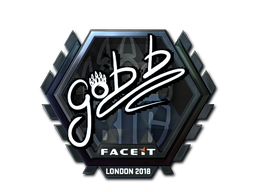 Sticker | gob b (Foil) | London 2018