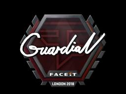 Sticker   GuardiaN   London 2018