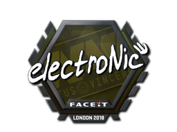 Sticker   electronic   London 2018