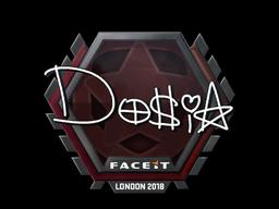 Sticker | Dosia | London 2018