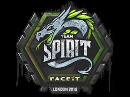 Sealed Graffiti | Team Spirit | London 2018