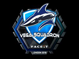 Sticker   Vega Squadron (Foil)   London 2018