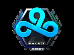 Sticker | Cloud9 (Foil) | London 2018