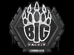 Sealed Graffiti   BIG   London 2018